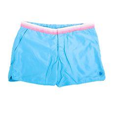 Benson Swimmer Men's Swim Trunks - Light Blue