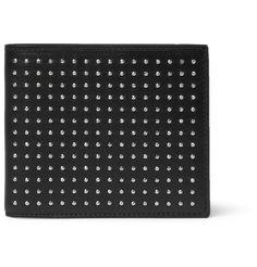 Saint Laurent Studded Leather Billfold Wallet | MR PORTER