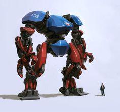 concept robots: Concept robots by Kemp Remillard