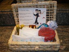 Diário de um Casamento: Kit para banheiro - Casamento