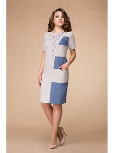2457-1, Elady, Элегантное женское платье, вып