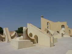 Playscape   17th Century Observatory in Jantar Mantar   Website: Neatorama
