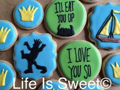 Where the wild things are inspired cookies