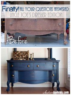 Uncle Joe's Dresser | The Answers to ALL Your Questions - SouthernRevivals.com