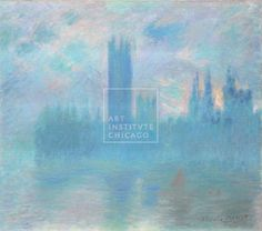 Painting, Impressionism - Claude Monet, French, Houses of Parliament, London, 1900/01 Oil on canvas, Mr. and Mrs. Martin A. Ryerson Collection, The Art Institute of Chicago (Image No. 00000207-01)