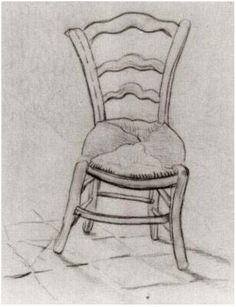 Vincent van Gogh Chair Drawing