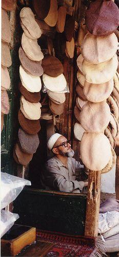 The hat shop . Pakistan