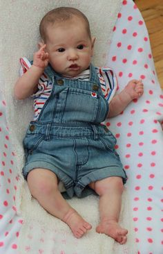 Gorgeous Reborn Baby Girl from the Saskia by SweetPetiteNursery