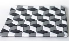 DIY Escher Tumbling Blocks Purse