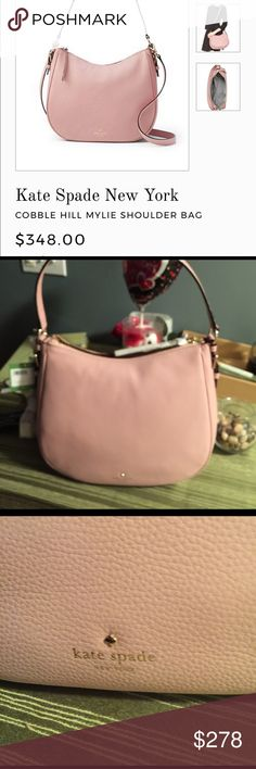🎉HOST PICK🎉Beautiful Kate Spade cobblehill mylie NWT, beautiful pink is perfect for spring, comes with longer handle which gives purse a different look,11x4x9, h-d 9 in Prices are based upon use, whether an item is new and what I paid. If you see an item priced cheaper somewhere else please purchase it there. kate spade Bags Shoulder Bags