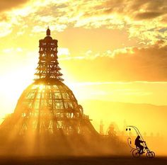 Dreamy burning man picture! Oh i wish i could make it to this festival