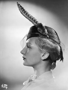 Feather Hat, 1937