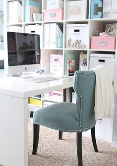 Lovely home work space