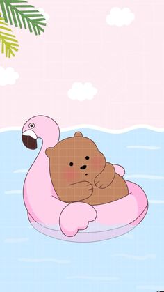 Grizzly Shared Naty On We Heart It with regard to The Awesome We Bare Bears Grizz Wallpaper - All Cartoon Wallpapers Disney Phone Wallpaper, Bear Wallpaper, Kawaii Wallpaper, Wallpaper Iphone Cute, We Bare Bears Wallpapers, Panda Wallpapers, Cute Cartoon Wallpapers, Kawaii Drawings, Cute Drawings