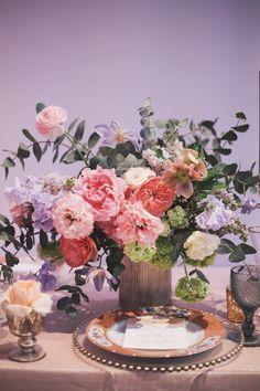 Featured Photographer: OLLI STUDIO; Wedding reception centerpiece idea.