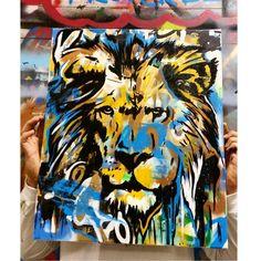 """ Roar.  Check out the artist:  @leightonautrey  #artbotic #art #artist #roar #lion #"" Photo taken by @artbotic on Instagram, pinned via the InstaPin iOS App! http://www.instapinapp.com (06/04/2015)"