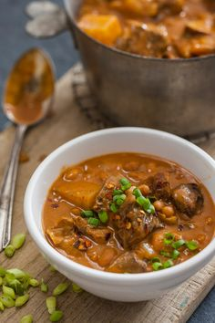 Beef & Bean Stew-These was a really easy recipe and the Sweet Chili ...