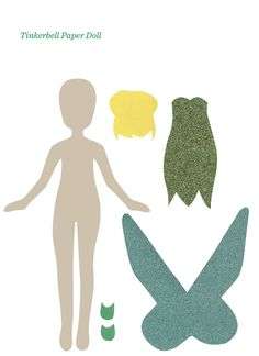 FREE PRINTABLES. Fairy Party Paper Dolls via victorious archive