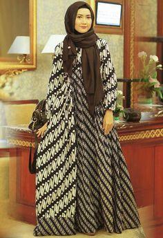 Gamis Batik Pesta Modern