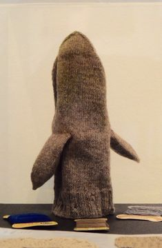 Fishermans mitten at the Gotlands Museum in Visby || my life in knitwear