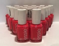 20 Essie WHOLESALE Bright Hot Pink Nail Polish BABY BRIDAL SHOWER PARTY FAVORS #essie