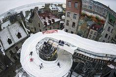 testskate the new course in Quebec Quebec, Red Bull, Ice, Quebec City, Ice Cream