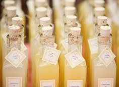 DIY Homemade Limoncello Wedding Favors Want to know a unique DIY favor that is great tasting and different than any other favor youve seen? Try this: a homemade limoncello recipe. Homemade Wedding Favors, Unique Wedding Favors, Wedding Party Favors, Wedding Gifts, Wedding Ideas, Wedding Favours Italian, Alcohol Wedding Favors, Wedding Bands, Wedding Tokens