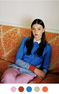 Anna Jackson in Dazed & Confused by Letty Schmiterlow on Color Collective