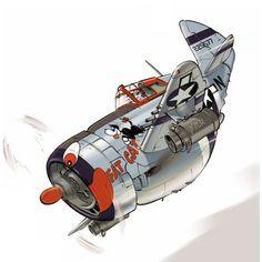 P-47 FAT_CAT de Jean BARBAUD