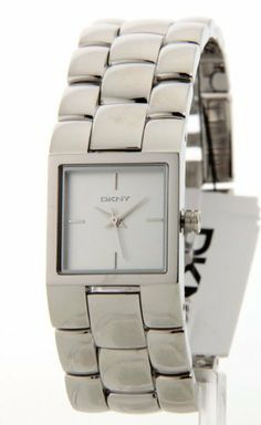 DKNY Women's NY8033 Stainless-Steel Quartz Watch with White Dial DKNY. $72.50. 30 Meters / 100 Feet / 3 ATM Water Resistant. Quartz Movement. 21mm Case Diameter. Mineral Crystal