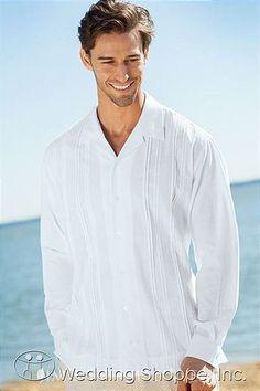 Dress Shirts Jim's Formal Wear White Destination Shirt Men's Dress Shirts Image 1