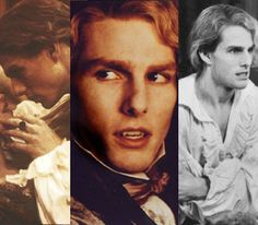 Interview With A Vampire, Tom Cruise as Lestat de Lioncourt. he's never looked better, in my opinion.