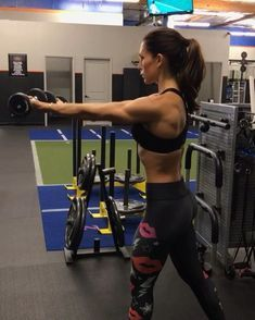 Arm Pump Sunday 1. 12 Reps 2. 12 Reps 3. 15 Reps 4. 15 Reps 3-5 rounds #alexiaclark #queenofworkouts #fitforareason #fitness #fitgirl…
