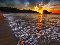 Tangolunda Bay, Huatulco, Mexico by =IvanAndreevich on deviantART