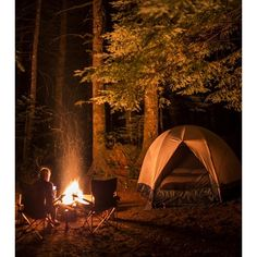 Let's Go Camping! ❤ liked on Polyvore featuring backgrounds, pictures and places