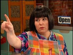"""He look like a man"" - Miss Swan from Mad TV."