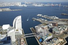 Yokohama from the Landmark Tower
