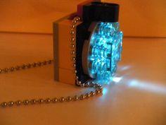 Custom LEGO R Iron Man Arc reactor Necklace pendant by Romans3, $9.99