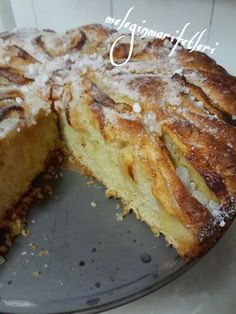 .meleginmarifetleri: ELMALI ALMAN KEKİ.. Cake Recipes, Dessert Recipes, German Cake, Gateaux Cake, Pudding Cake, Apple Desserts, Turkish Recipes, Yummy Cakes, Good Food