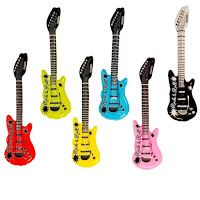 Buy some inflatable guitars and you have instant rock and roll theme decorations AND props for pictures taken in the classroom!
