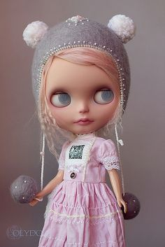 Blythe in her pretty Olydoll dress