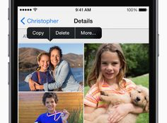 Save photos from Messages - iOS 8 Tips and Tricks for iPhone - Apple Support Apple Support, Ios 8, Messages, Working With Children, Ipod Touch, Party Planning, Photo And Video, Learning, Tips