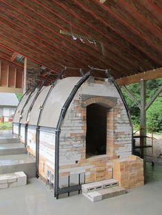 NHIA finished anagama kiln built by John Baymore and class, 2014 NH For more info on the kiln project:  http://www.nhia.edu/ancient-japanese-kiln-to-be-constructed-by-nh-institute-of-art-students-at-sharon-arts-center/