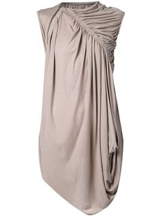 Rick Owens Lilies   Pleated Drapey Top