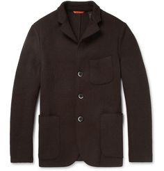 BARENA Unstructured Lightweight Wool-Blend Jacket|MR PORTER