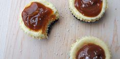 Mini Salted Caramel Cheesecakes