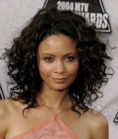 Really like her hair.