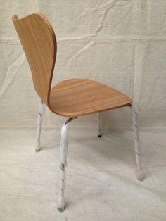 Replica Arne Jacobsen SERIES 7 OAK CHAIR Danish Design Dining MATT BLATT