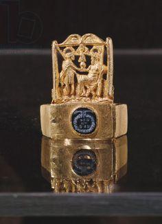 Ring, from Blagaj near Mostar, 3rd-4th century (gold)