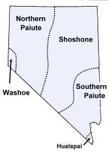 These are the original inhabitants of the area that is now Nevada. There are 15 federally recognized Indian tribes in Nevada today: they are separate groups of Shoshone or Paiute. Native American Map, Native American Pottery, Indian Tribes, In This World, Nativity, Canada, Genealogy, Maps, Native Americans